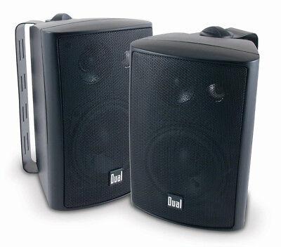 200 Watt 3 Way - Dual 200 Watts Weather Resistant Indoor/Outdoor 3-Way Speaker - Black