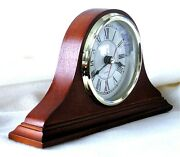 Wood, Quartz Mantel Clocks