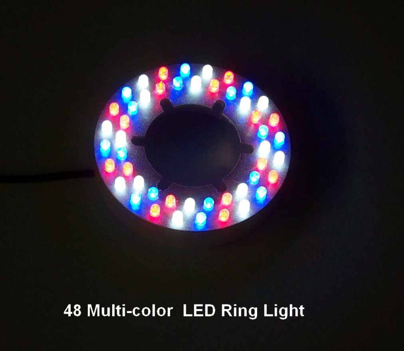 48 LED Red/Blue/White Fountain/Pond Ring Light -color changing-low voltage-12v