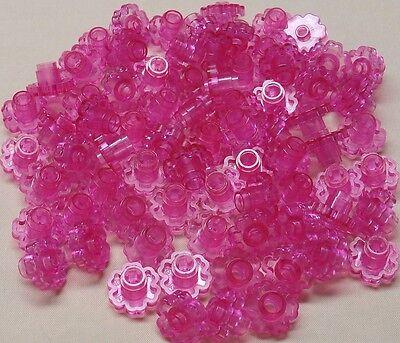 X25 Lego Pink Flowers Trans Dark Pink Garden Girl Lot Belville Friends