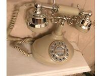Vintage working retro telephone