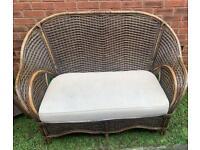 Bamboo / wicker sofa