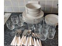 Simple Tableware Set
