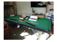 BCE Table sports 2000 series foldable snooker table