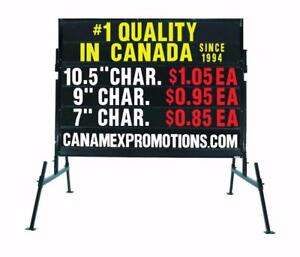 SAVE SAVE SAVE! Portable/Mobile Signs and Letters... SPECIAL 5% off sign or letter purchase. Just say Kijiji !