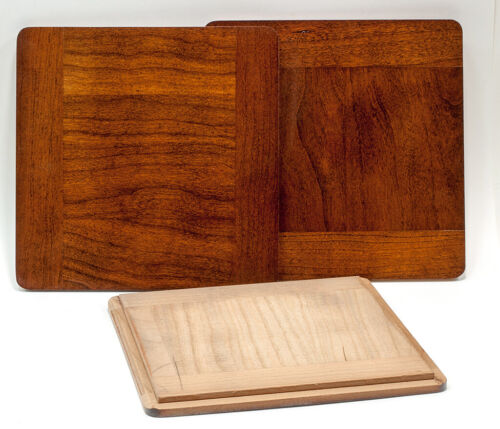 """1 Wooden lens board 6x6""""RC for Deardorff, or Calumet C1 - 8 x10"""" of Solid Cherry"""