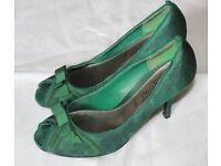 Women's size 6 Dark Green Court shoes (Your Feet Look Gorgeous)