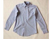 Men's Light Blue Ralph Lauren Shirt