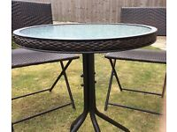 Garden Bistro Patio Table and Chairs Set