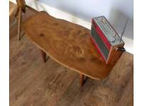Elm Live Edge Coffee Table - Delivery Available