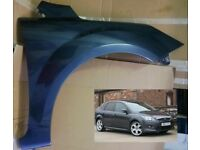 FORD FOCUS 2008-2011 BRAND NEW INSURANCE APPROVED FRONT WING PAINTED TO MATCH YOUR CAR