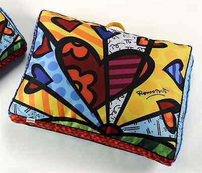 AUTHENTIC ROMERO LARGE BRITTO PILLOW / PET BED / DOG BED / TV PILLOW