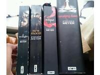 FULL SET OF TWILIGHT BOOKS