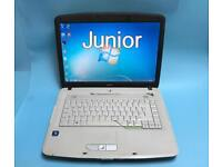 Acer Quick laptop 2GB Ram, 160GB Win 7, DVD Drive, Microsoft Office,Excellent Cond,Ready to use