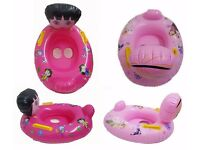 *** SALE Kids Toddler Inflatable Swimming Pool Swim Safety Aid Seat Float Boat Water Toy ***