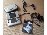 Original Silver Nintendo DS