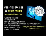 Cheap website creation