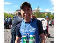 Take up your FREE charity place at the Edinburgh Marathon Festival with Royal Blind