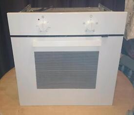 Integrated white ikea single oven