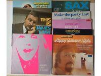JAMES LAST Vinyl LP Collection almost nr Mint condition 13 Albums + The BEST Of Box Set (7Lps)