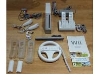 Nintendo Wii White Console - Full package