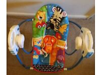 Fisher Price electric (battery) rainforest baby swing, unisex, 0 to 6 months old or up to 9 kg