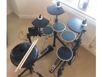 Alesis DM Lite Kit 5-Piece Electronic Drum Set with Collapsible 4-Post Rack