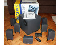 Creative Gigaworks s750 7.1 surround speaker system. *Very Rare*.