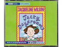 Jacky Daydream Jacqueline Wilson 6 CD Set Audiobook Unabridged Audio book Childrens