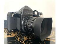Pentax 6x7 with 105mm 2.4