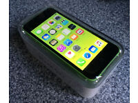BRAND NEW IN BOX & UNUSED iPhone 5C 16GB Unlocked Any Network & BRAND NEW Extras