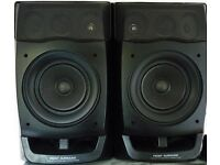 ! Pair immaculate Powerful Aiwa FZ1500 speakers. Surround and front. 3 way bass Reflex