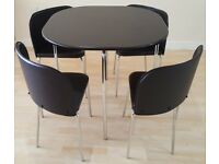 Amparo Dining Table & 4 Chairs