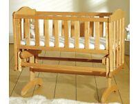 Sapling gliding crib
