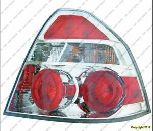 Tail Light Passenger Side Sedan High Quality Chevrolet Aveo 2007-2011