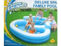 Deluxe Spa Family Paddling Pool