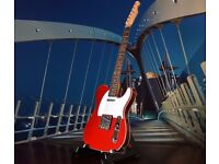 FENDER TELECASTER BY TOKAI .breezy sound NEW UNSED