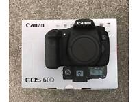 Canon 60D 18MP DSLR camera (body only)