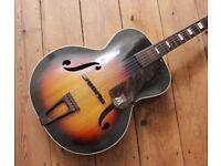 Vintage Harmony Monterey Archtop guitar 1940's
