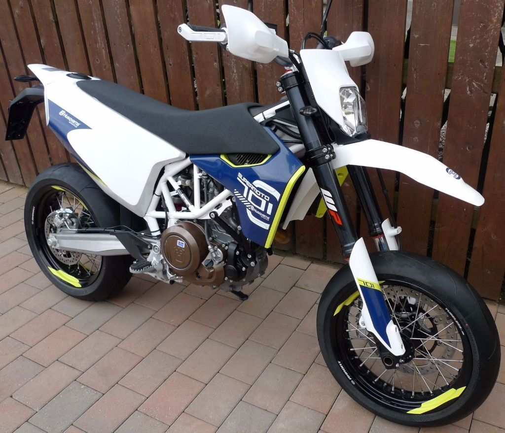 husqvarna 701 supermoto same as ktm super moto in. Black Bedroom Furniture Sets. Home Design Ideas