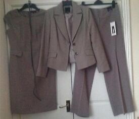 Ladies Taupe Suit