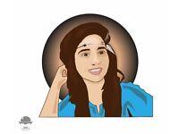 Convert your pictures into illustration (vector portrait)