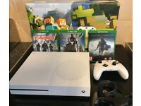 Xbox One S - Excellent Cond, boxed, complete. With 3 great games.
