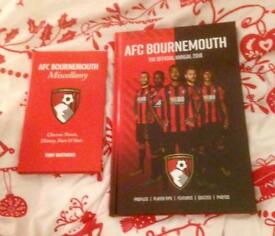 AFC Bournemouth Official Annual 2018 & AFC Bournemouth Miscellany. New Hardbacks