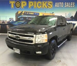 2008 Chevrolet Silverado 1500 LTZ, LEATHER, SUNROOF, 4X4, ALLOY