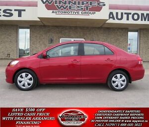 2008 Toyota Yaris AUTO, AIR, 1 OWNER LOCAL TRADE, CONVENIENCE PK