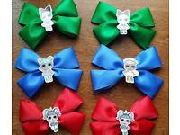 Lol inspired school bows