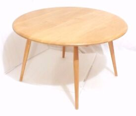 Ercol round Coffee Table Light Tone Good condition May Deliver
