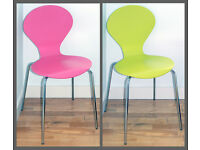 2 x designer chairs - dining, office, study, playroom, desk, nursery - childrens room **Delivery**