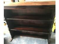 SOLID WOOD ANTIQUE BOOKSHELF